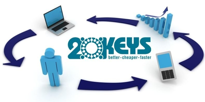 Grain Field Chickens and Key 8 of the 20 Keys system for operations excellence