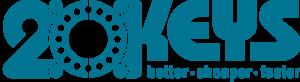 20 Keys logo