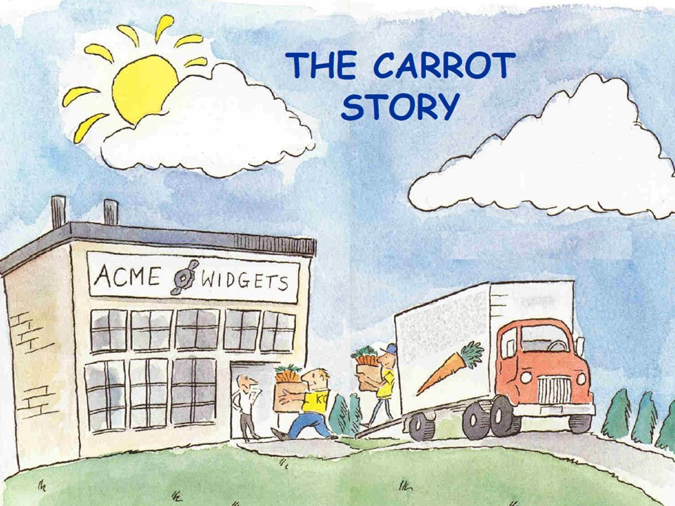Organisations encounter challenges that require carrot discipline. The question is: How does our organisation eat its carrots?